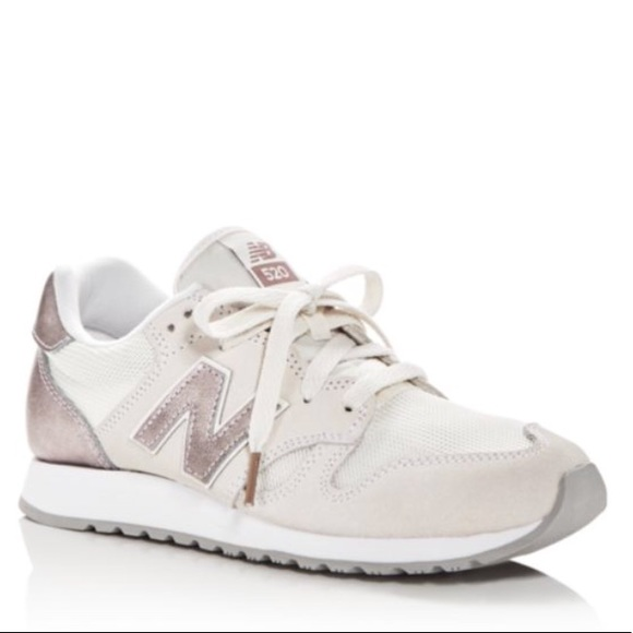 8b3d2da07cc53 New Balance Shoes | 520 Sneakers Pink White 75 J Crew | Poshmark
